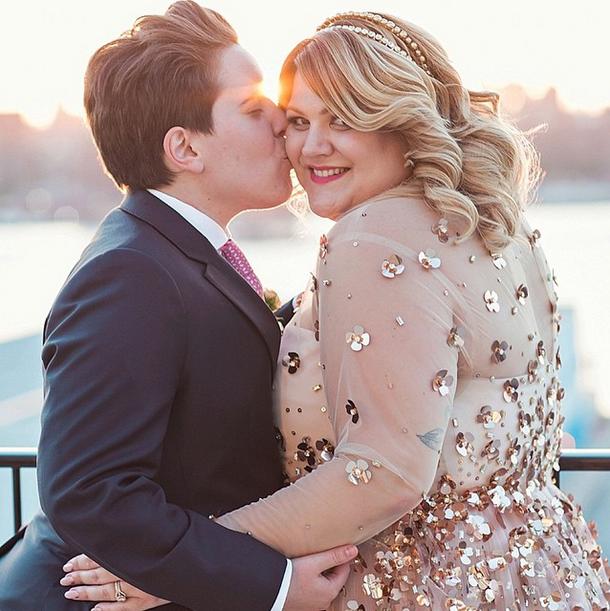 Plus size blogger @nicolettemason's @CSiriano wedding dress will make you weak at the knees: http://t.co/T0AIJATGXp http://t.co/nahIEwNhSN