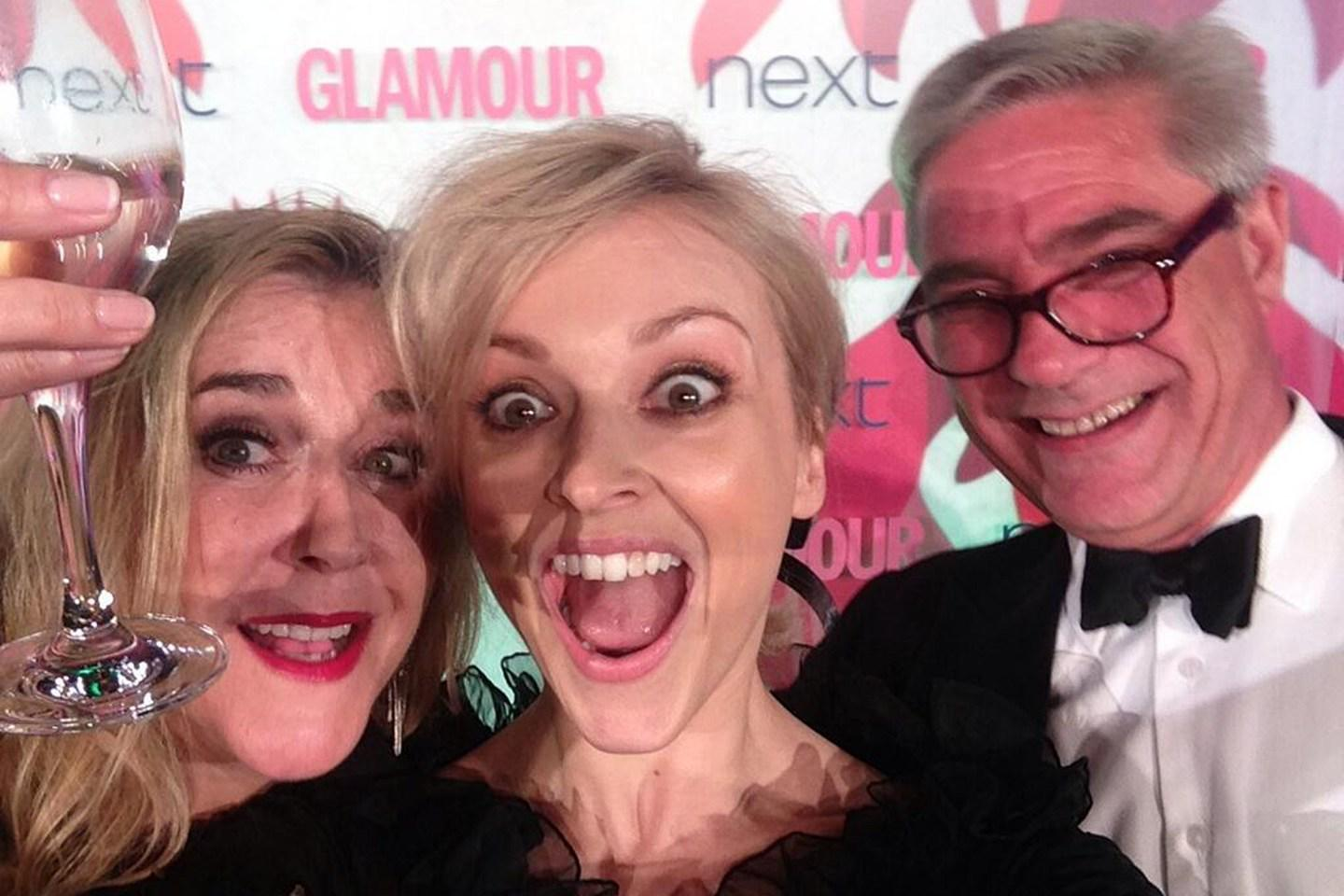 RT @GlamourMagUK: Remember @Fearnecotton's #Gogglebox selfie last year? The best moments from the #GlamourAwards http://t.co/t6w2HCwvbt htt…