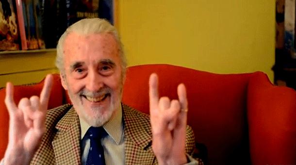 Happy birthday to Sir Christopher Lee, who turns 93 today! #lotr #tolkien #saruman #thehobbit http://t.co/zqyo8NZWQA
