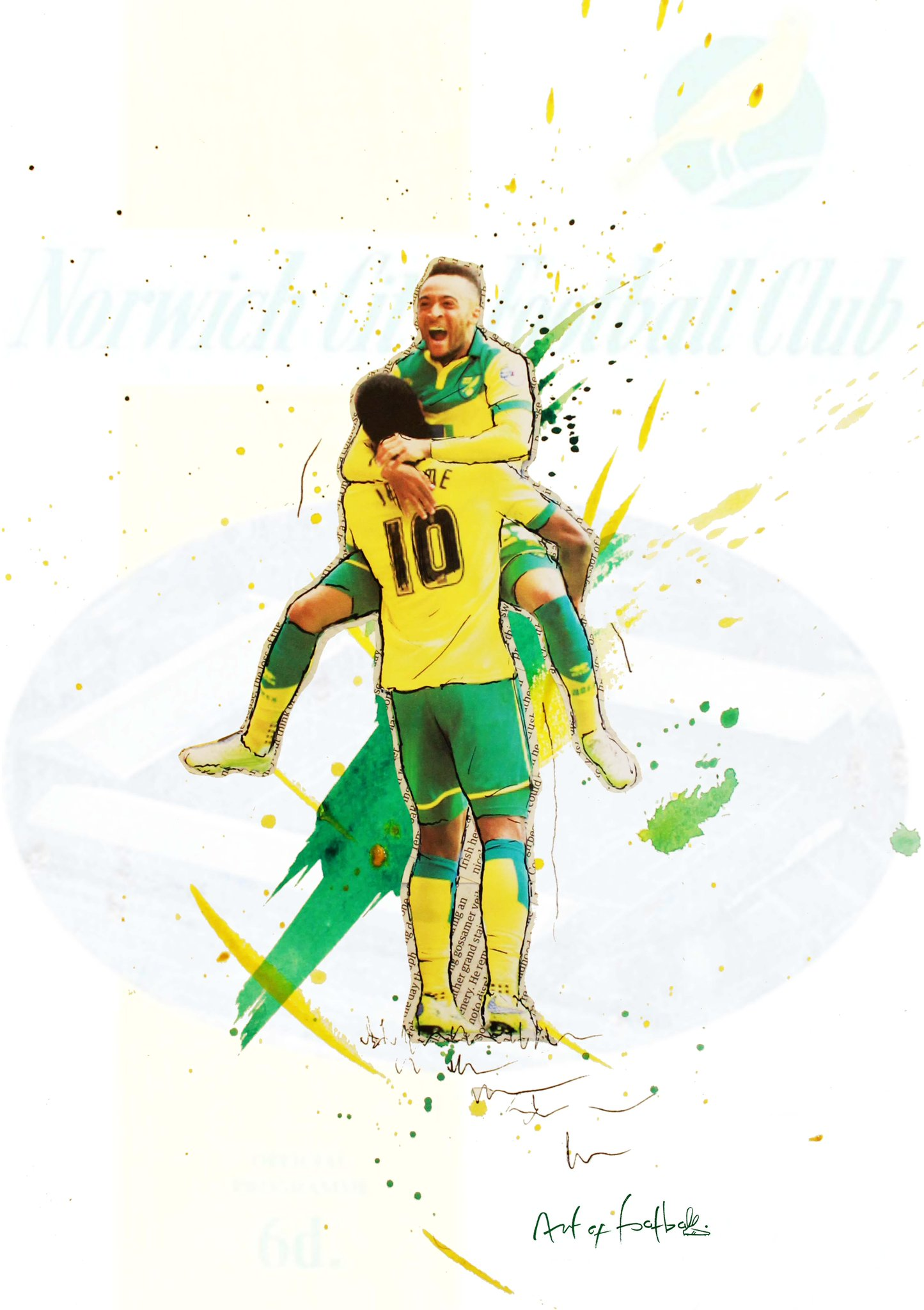 "RT @Art_of_Football: @stephenfry How about a RT for our ""No Contest"" design celebrating #NCFC glorious promotion http://t.co/elOUMJJt7H htt…"