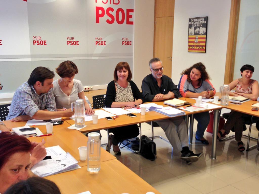 Armengol: 'Estoy preparad�sima para presidir Baleares, pero ahora se trata de consensuar pol�ticas'