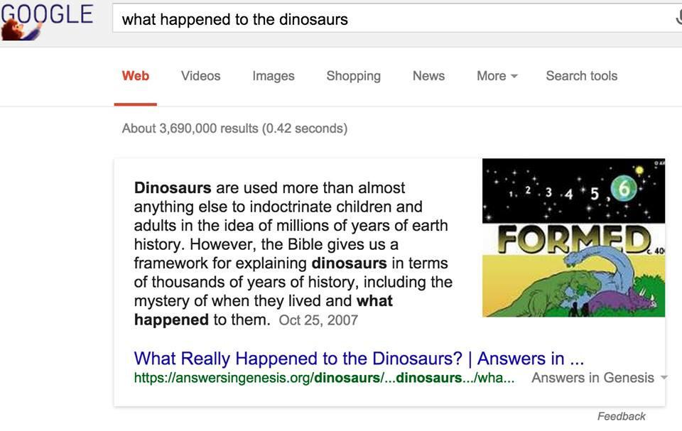 Hey @google, what the heck? For everyone else, click Feedback and ask that it be removed. h/t @IDoubtIt http://t.co/G6nAQpyP0m