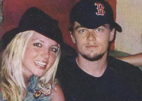 Britney and Leonardo DiCaprio - 2002