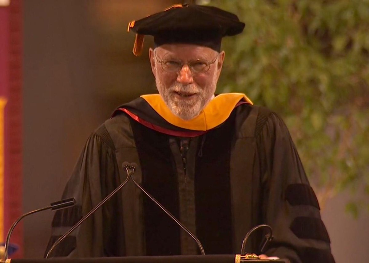 my commencement speech at ASU a few days ago to 50,000 folks. Scary! http://t.co/sI58pwK1bA http://t.co/MCEOWt6rKw