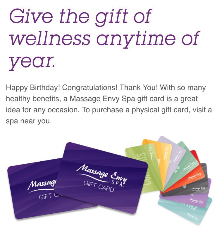 Massage envy gift card for christmas   Christmas photo and pictures