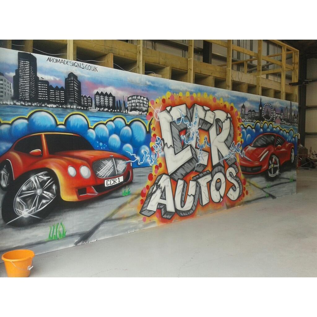 Scott Aroma King On Twitter Ccr Autos Painted By Me Done Graffiti