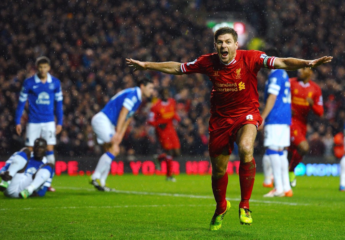And the winner of the #LFCgreatest ever player as voted for by #LFC fans is....  Steven Gerrard http://t.co/aEGeHxtDNW
