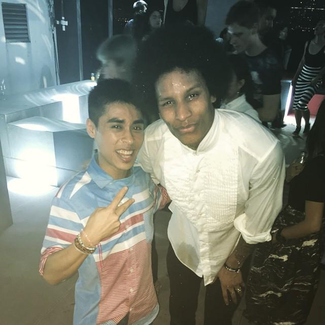 Les Twins in da house #lestwins #amazingdancers #ports1961 #party #hkparty @offlestwinspic.twitter.com/YKKQJAxusm