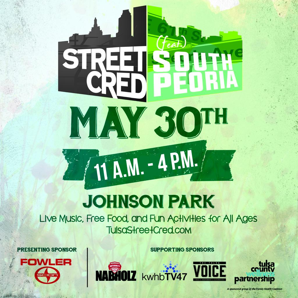 #streetcred2015 happening Saturday! Help spread the word with a RT