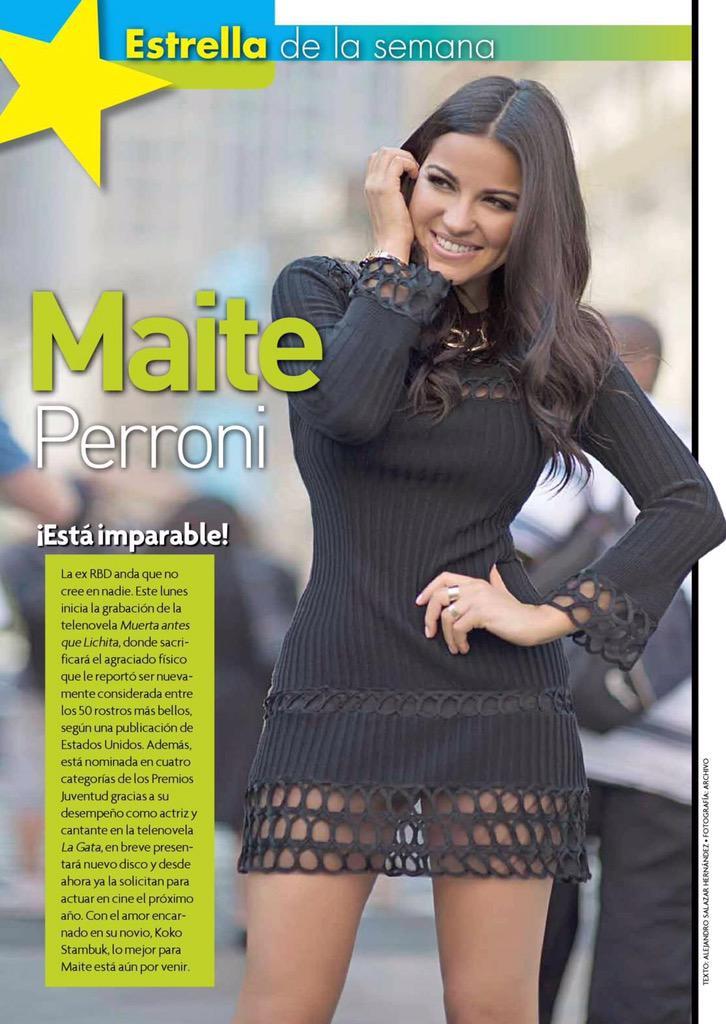"""""""@Mpw_NewYorkUSA: #Scan @MaiteOficial """"Estrella de la Semana"""" ⭐️⭐️ (Maite esta imparable) http://t.co/SulxhqOccn"""""""