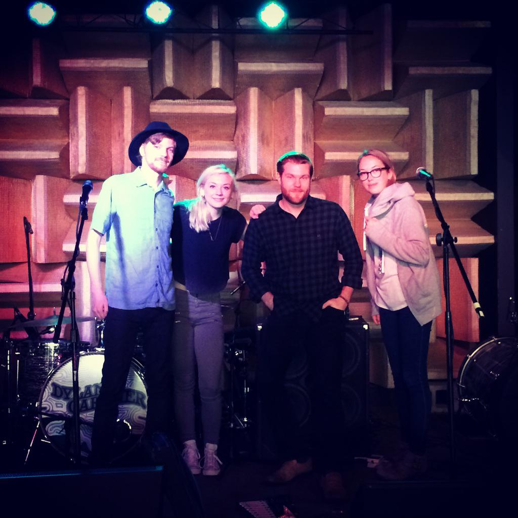 .@emmykinney sound check was a success! She's @thehifiindy TONIGHT. Doors open at 7! http://t.co/2Nr4FroRYH