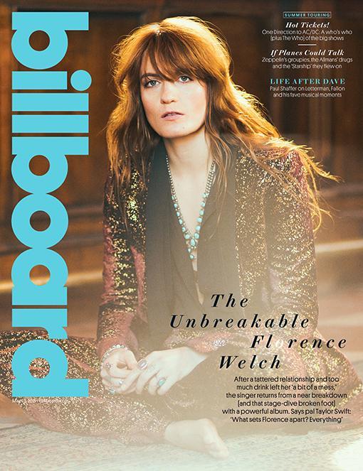 Florence Welch en la portada de BILLBOARD MAGAZINE. CFAENHEWgAANqgz
