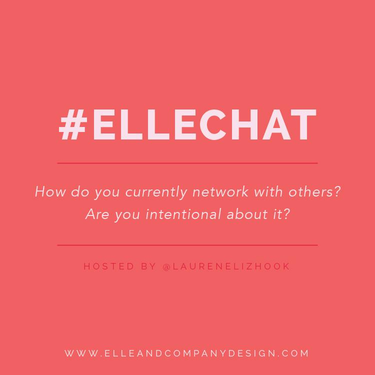Q2: How do you currently network with others? Are you intentional about it? #ellechat http://t.co/YCidBbWMmV