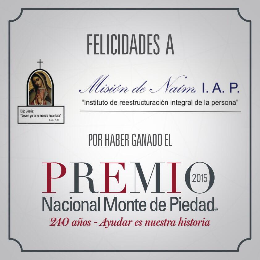 """Rosario Robles: Rosario Robles On Twitter: """"Premio @NMontePiedad 2015 A"""