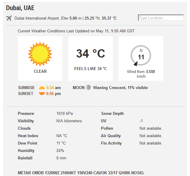 Gulf news on twitter today 39 s weather forecast uae for Today s fishing forecast