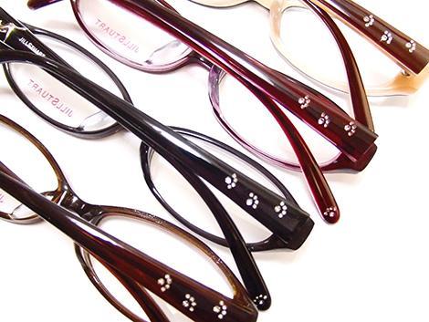ジルスチュアートの眼鏡フレーム、猫の肉球かわいい。 http://t.co/tBVH6e5U98
