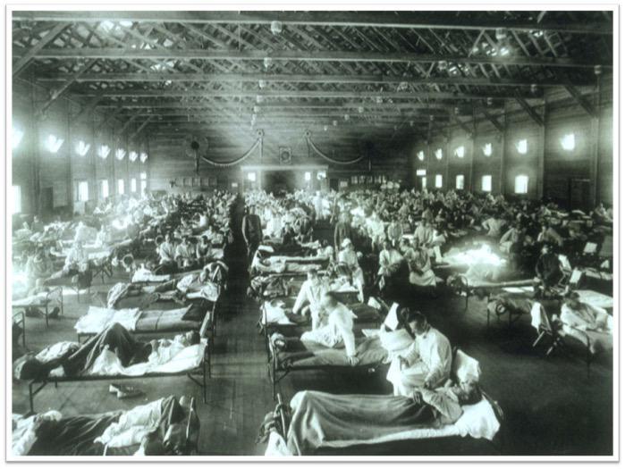 """La gripe """"española"""" de 1918 causó en 25 semanas más muertes que el SIDA en 25 años #microMOOC http://t.co/pyRs79Mm0h"""