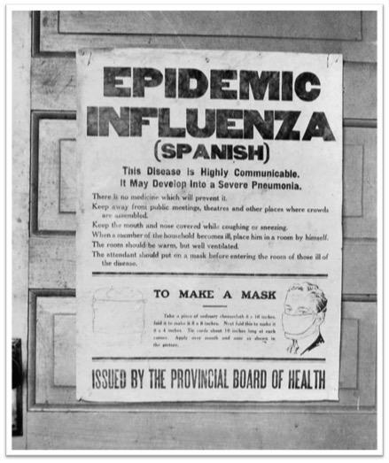 """¿Por qué la pandemia de gripe """"española"""" de 1918 no se originó en España? #microMOOC http://t.co/rW5h8aktk6"""