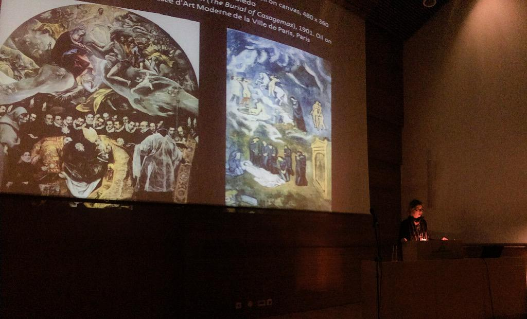 Ellen Prokop from @frickcollection speaking about #digital #photoarchive, #BigData & #digitalarthistory #NORDIK2015 http://t.co/fPXtxUH1pb
