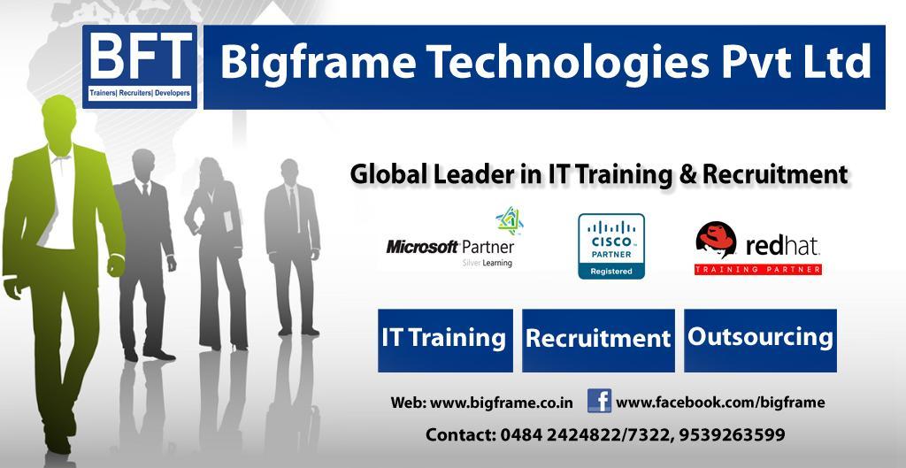 Bigframe Technology (@BigframeKochi) | Twitter