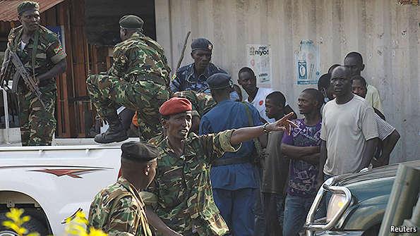 US helping Americans, Canadians evacuate Burundi