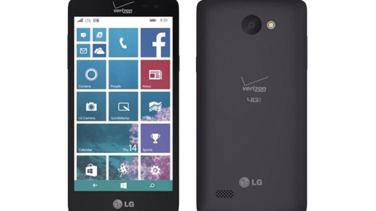 LG returns to Windows Phone with a budget Verizon handset