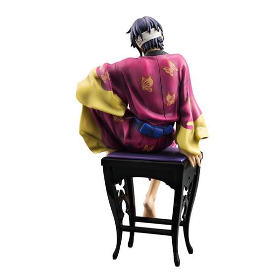 [グッズ]10月 G.E.M.シリーズ 銀魂 高杉晋助 ver.艶 はだけた胸元から覗くボディや表情豊かな指先の造形、 きらびやかな着物や着脱可能な羽織の彩色など「艶」を追求 【予約】