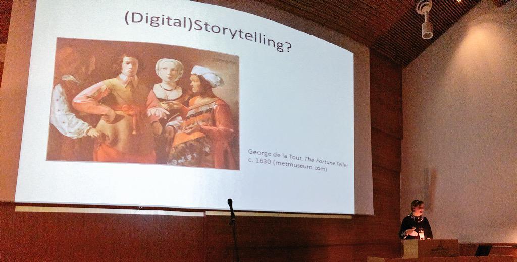 Inspiring talk by @romaace10 on #digitalarthistory & #education. Your students are lucky Ann-Catrine!  #Nordik2015 http://t.co/NICuAcqOTi