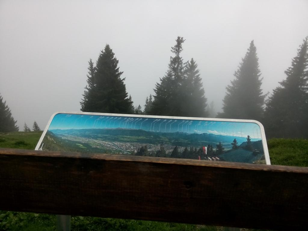 Handy panorama sign