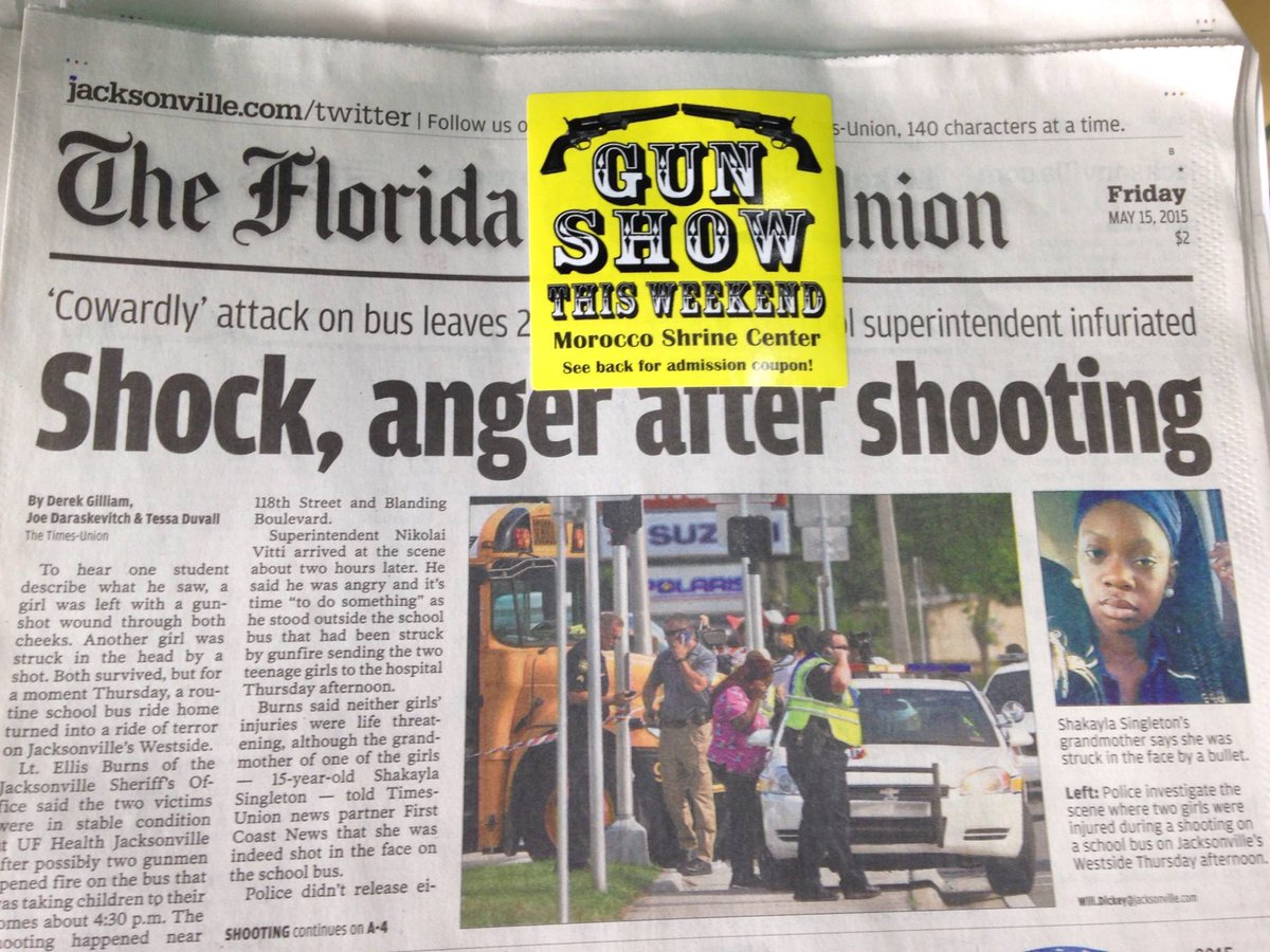 This is America, embodied in one newspaper. (This is today's actual newspaper in Jacksonville, FL) http://t.co/Z7rpyQ2yIq