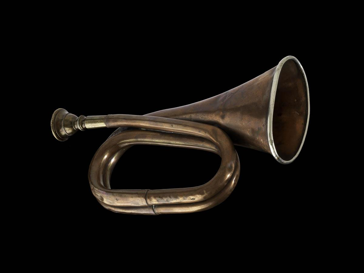 A bike club captain would have used this 1880s bugle to signal cyclists while out on group rides. #BikeMonth http://t.co/TLqmvNSI2j