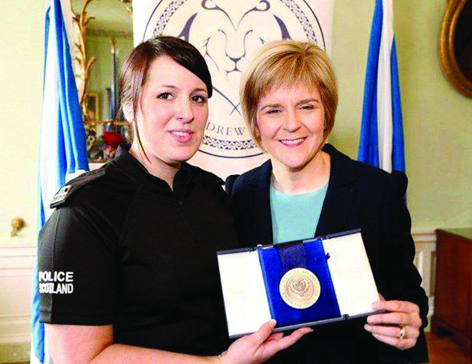 RT @Daily_Record: The winner of Our Emergency Services Hero is Tonianne Ewart #OH2015  @LidlUK http://t.co/ev8SR1Nrgv