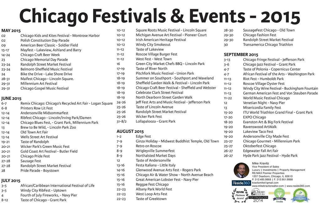 Who's ready for festival season? #ChicagoScene #ChicagoFestivals #Finallysummer http://t.co/OoM3XGbYJU