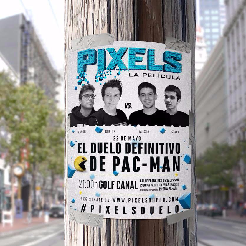 En una semana evento con @mangelrogel @Rubiu5 @bysTaXx y yo ^^ Info here http://www.pixelsduelo.com #PixelsDuelopic.twitter.com/L03gIx5a5x