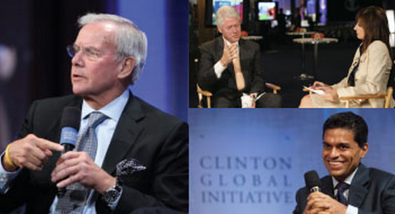 Check out these Clinton Global Initiative liberal media members