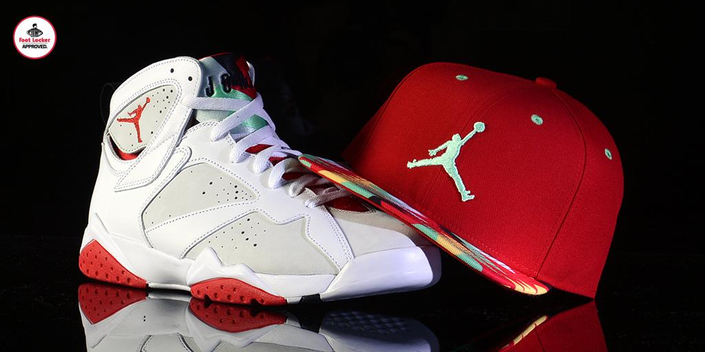 b98dad6e The #HareJordan Collection: Jordan Retro 7 Hare Snapback. Available in  stores/