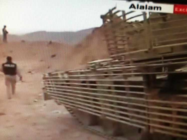 الدبابه T-55 السوريه ودورها في الحرب القائمه هناك  CFEkDgsUgAA5QvW