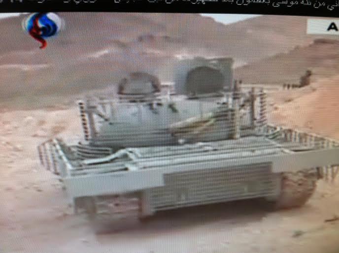 الدبابه T-55 السوريه ودورها في الحرب القائمه هناك  CFEkDhRVIAAvQHy