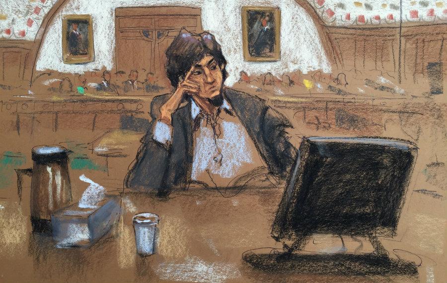 Tsarnaev condannato a morte per l'attentato alla Maratona di Boston nel 2013