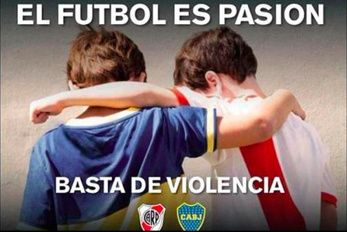 #SuperVerguenza Lo que pasó anoche en el partido River Boca por la copa libertadores. Esperemos que no se repita! http://t.co/HxJKAOdEFK