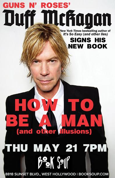 Man up! @DuffMcKagan returns THURSDAY night! http://t.co/Bb7EhvJhCd http://t.co/AjMGPxKGSR