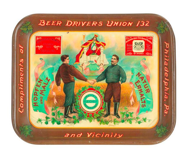 This Beer Drivers Union tray will be in our #BusinessHistory exhibition, opening July 1. http://t.co/NWUMiIfCuX http://t.co/1kfJroxhgY