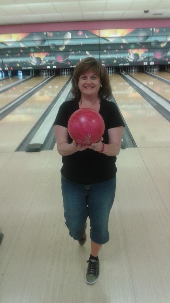Cindy Hval On Twitter My Lucky Pink Ball Bowling Spokane