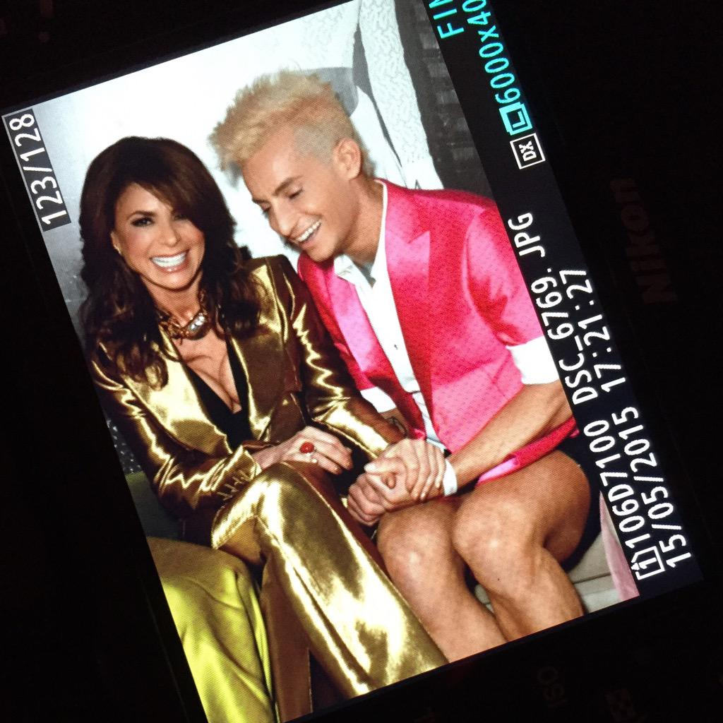 RT @FrankieJGrande: thank you @PaulaAbdul for your words of inspiration tonight. you are my ♥️. https://t.co/cwDhHbvinY http://t.co/eK1hGjA…