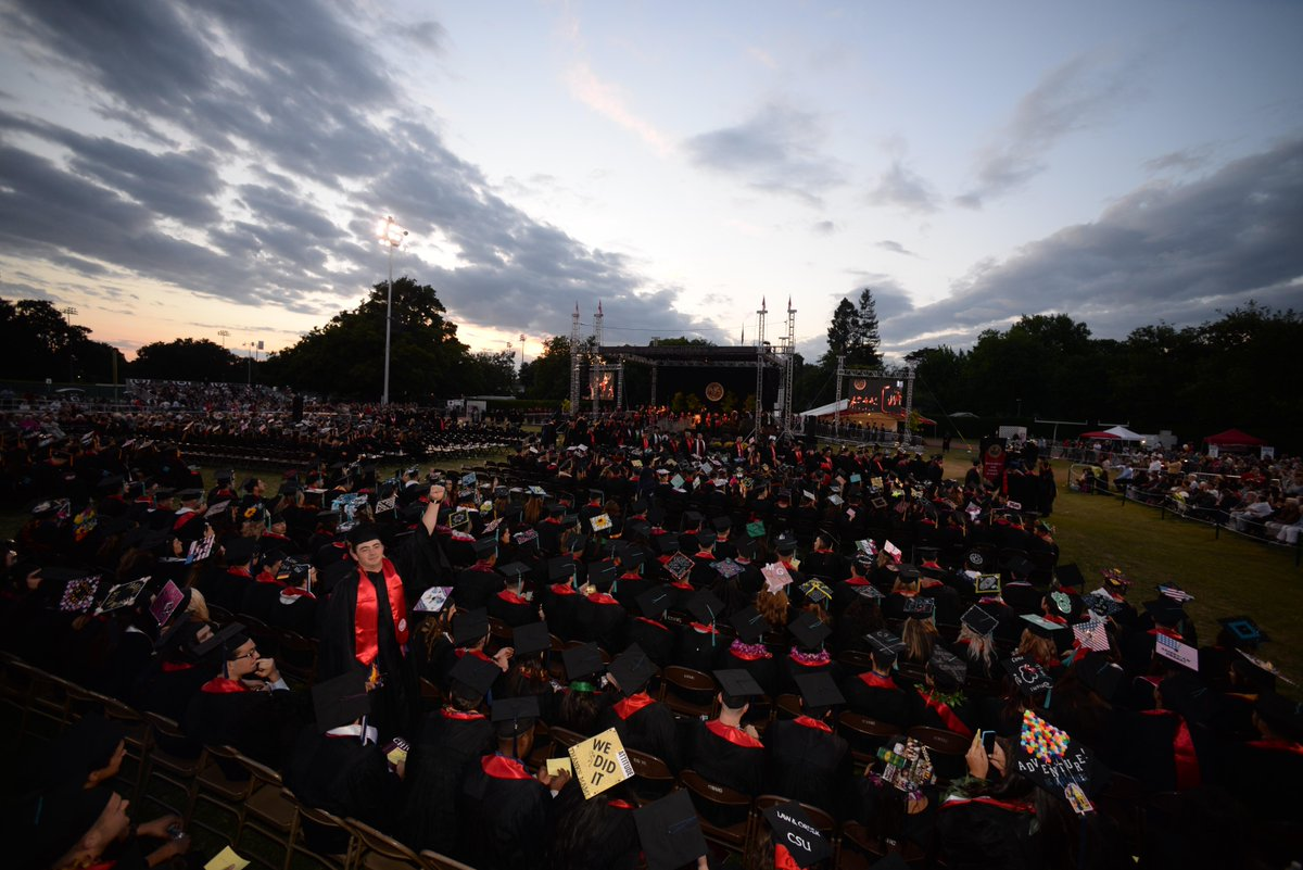 It's a beautiful night for Commencement. #chico2015 http://t.co/Y8fDjTmaIe