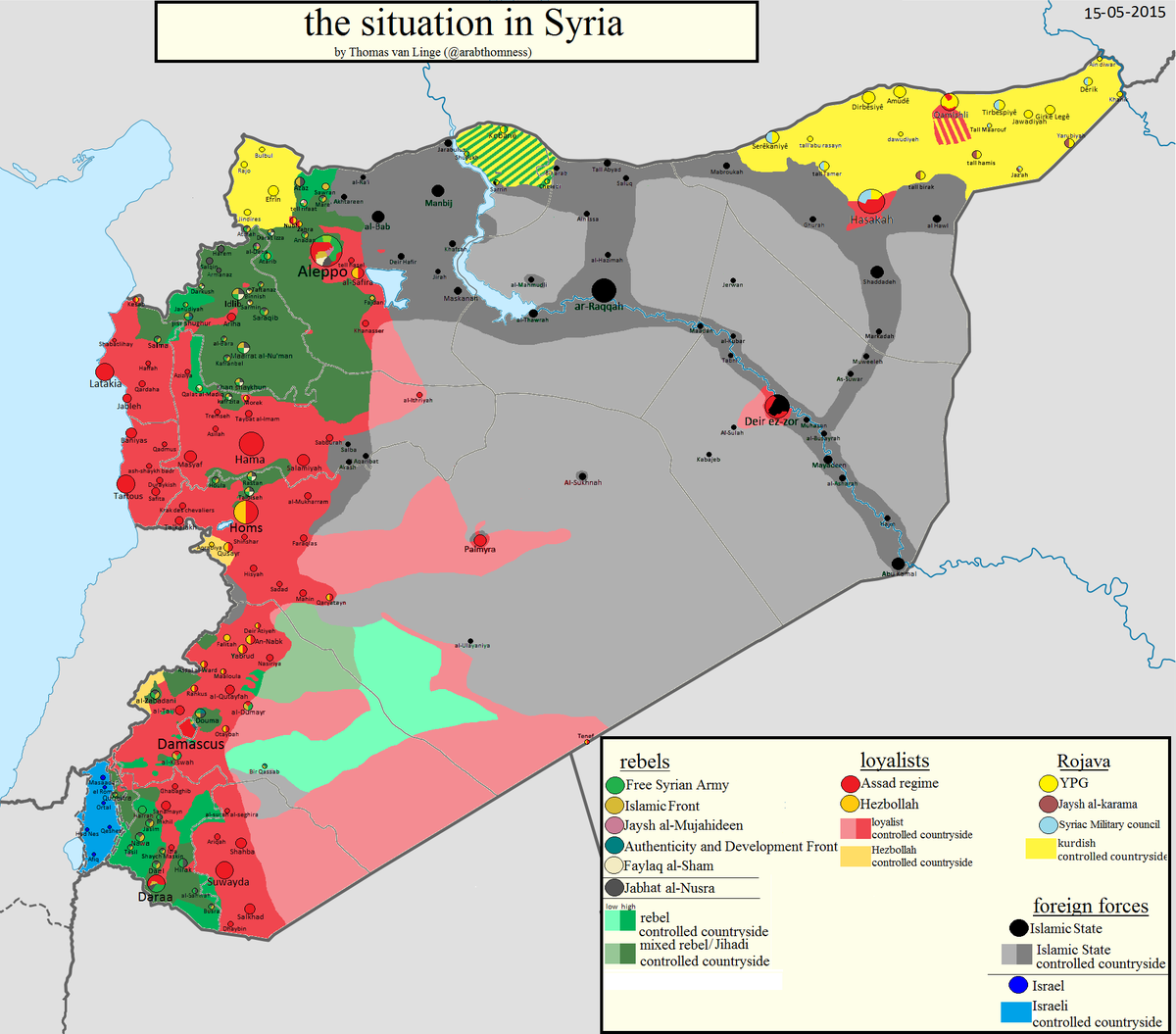 latest political map of syria SomaliNet Forums