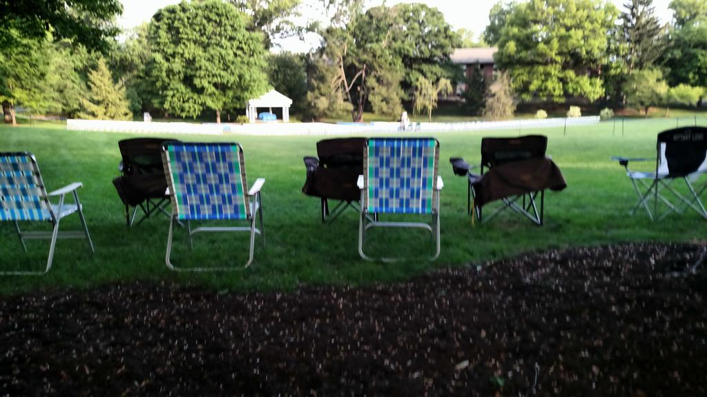 It's 7:23am and we already have chairs in the Dell for #etown2015 http://t.co/sxM9NHyL6P