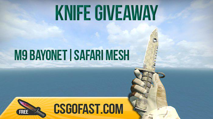 cs go fast on twitter knife giveaway fn rt follow us drawing
