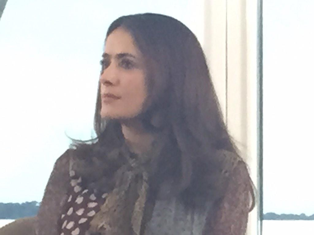 Salma Hayek #WomenInMotion reveals many big box office male leads have contractual right to choose female co-stars http://t.co/99QhKaulu2