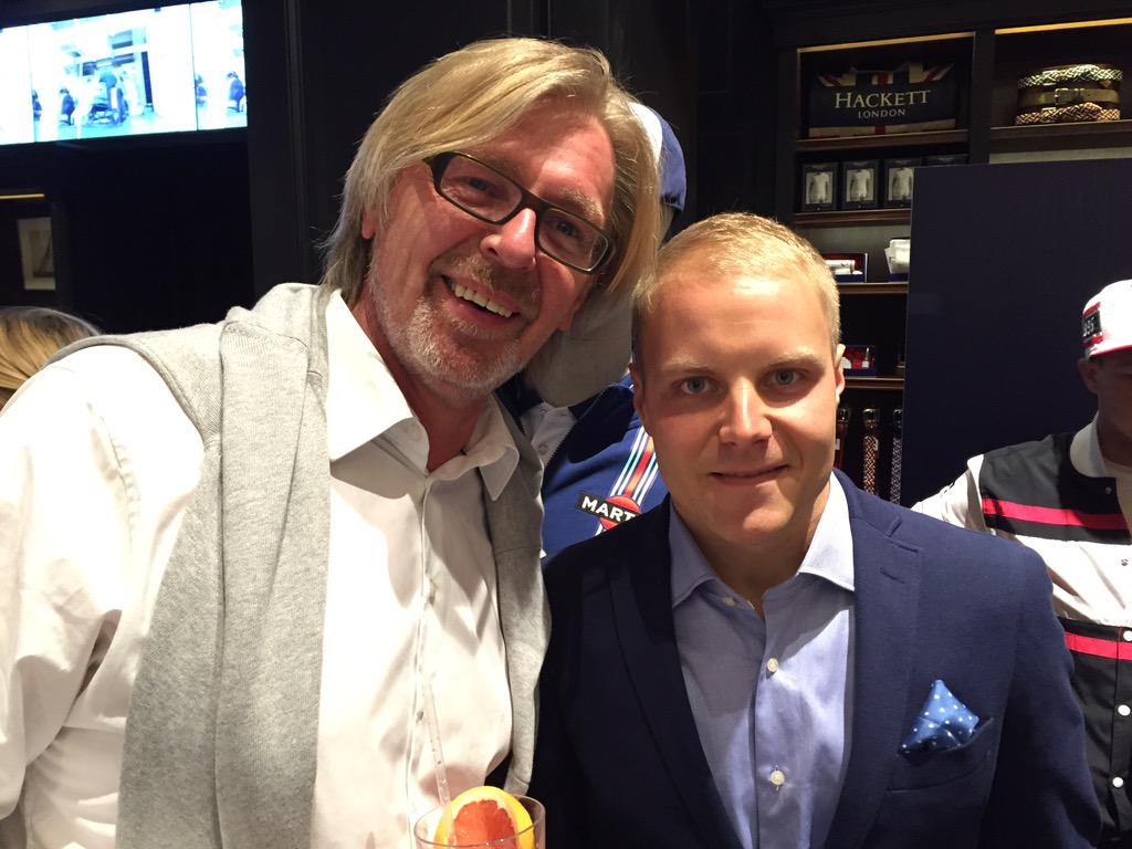 Valtteri Bottas On Twitter Thank You Hackettlondon For The Great